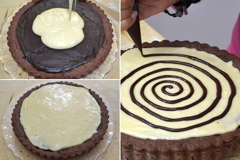 8 strato cioccolato bianco