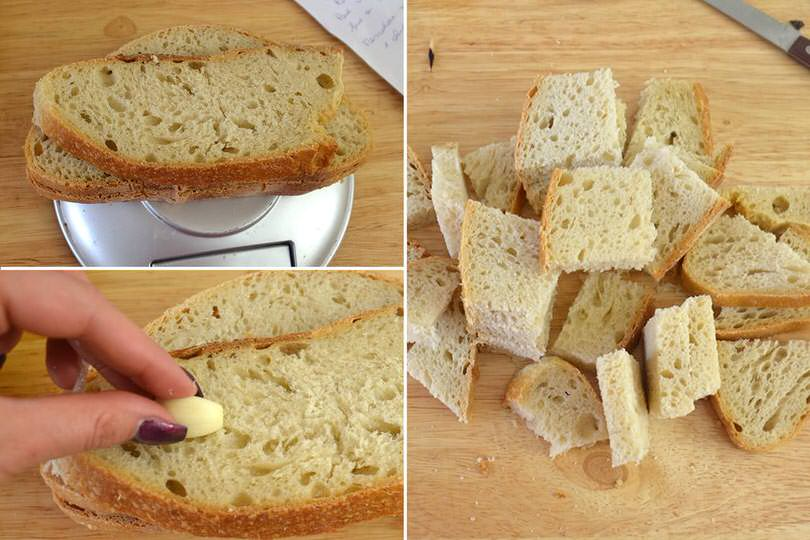 1 pane e aglio