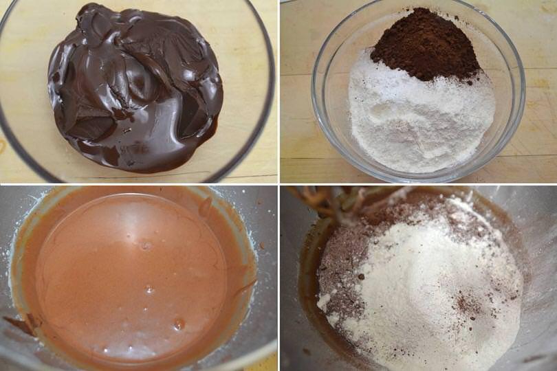 2 aggiungere cioccolato