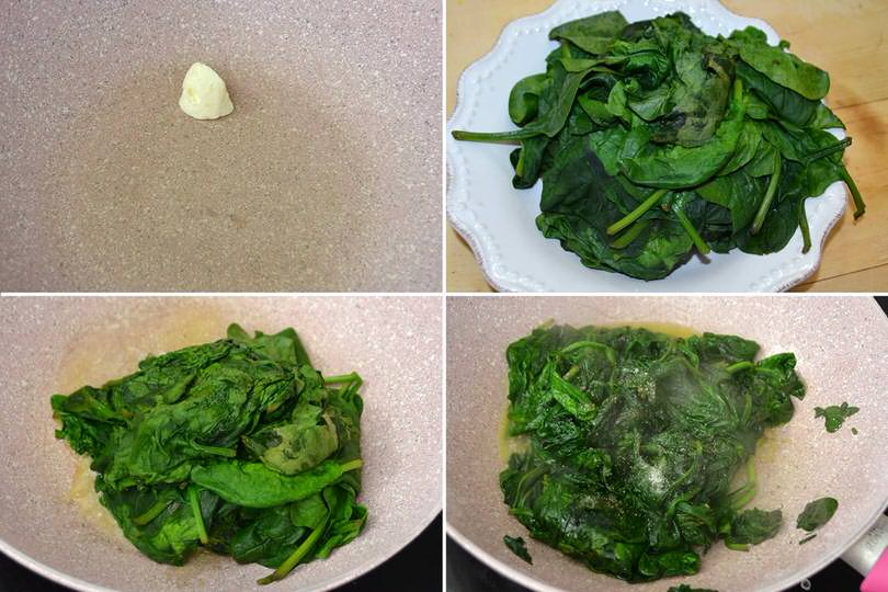 2 soffriggere spinaci