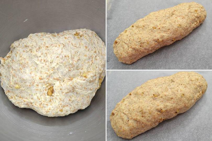 3 far crescere pane