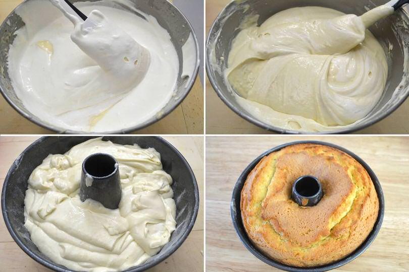 4 infornare torta