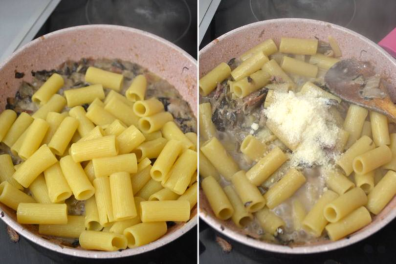 4 mantecare con parmigiano