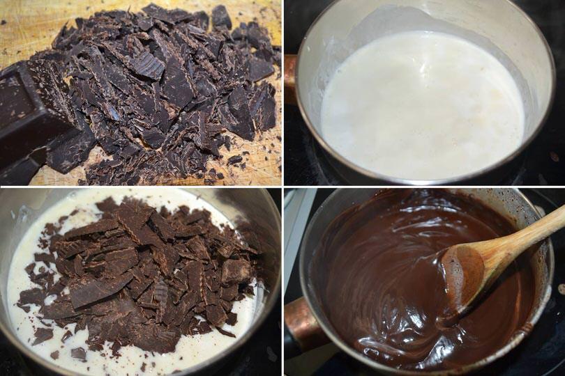 6 crema al cioccolato