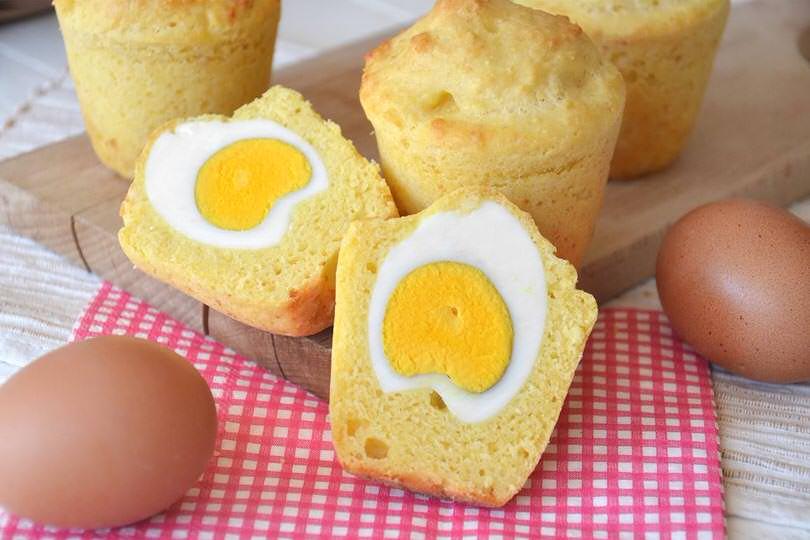 Ricetta Muffin Un Uovo.Muffin Salati Con Uovo Ricetta Muffin Salati Con Uovo Di Misya