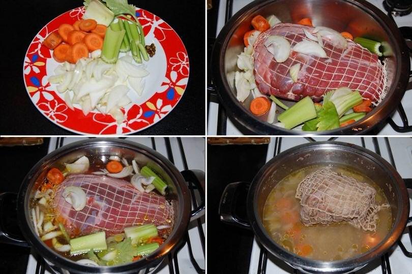 1 cuocere vitello