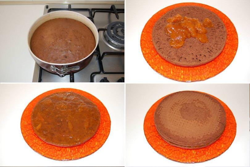 2 cuocere e aggiungere marmellata