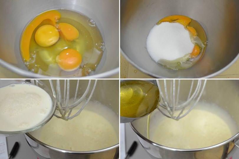 1 impastare ingredienti