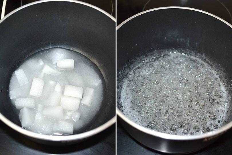 1 sciroppo di zucchero