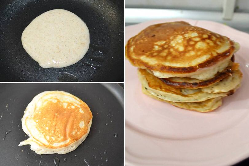 3 cuocere pancake