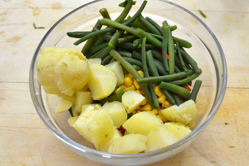 aggiungere patate