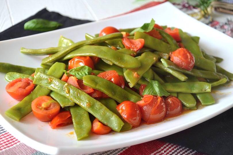 Taccole al pomodoro ricetta taccole al pomodoro di misya for Cucinare le taccole
