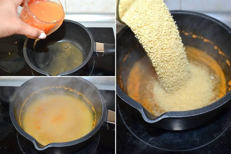 4 cuocere cous cous