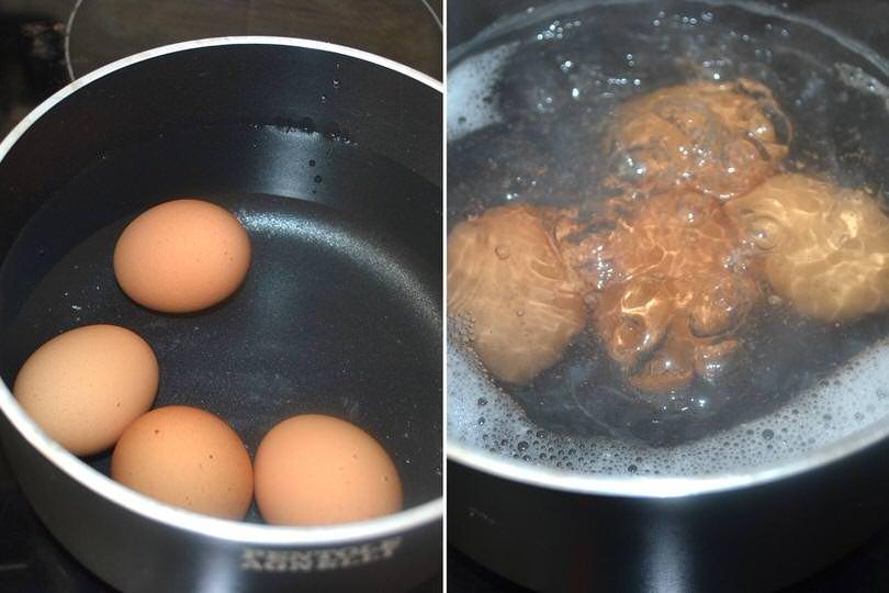 1 bollire uova