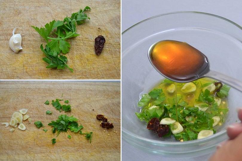 1 prezzemolo aglio peperoncino