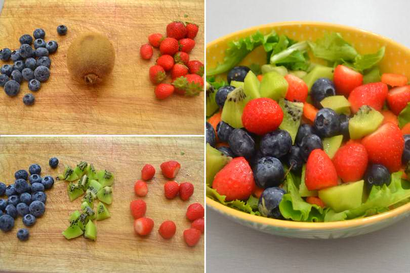 2 aggiungere frutta