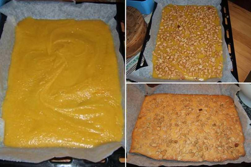 3 cuocere torta arachidi