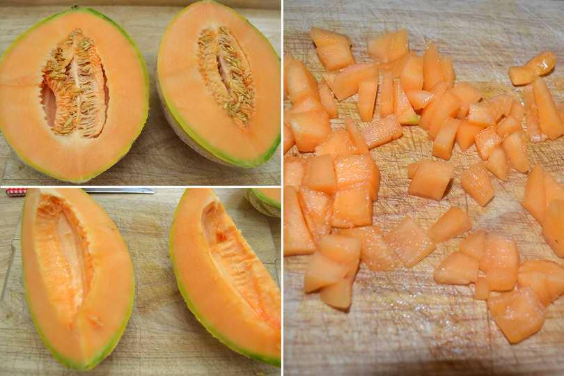 3 tagliare melone