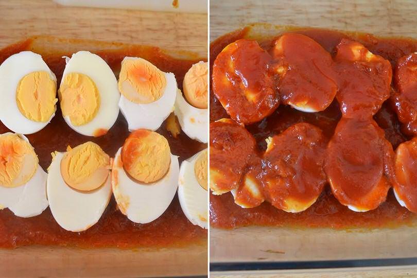 3 uova nella teglia