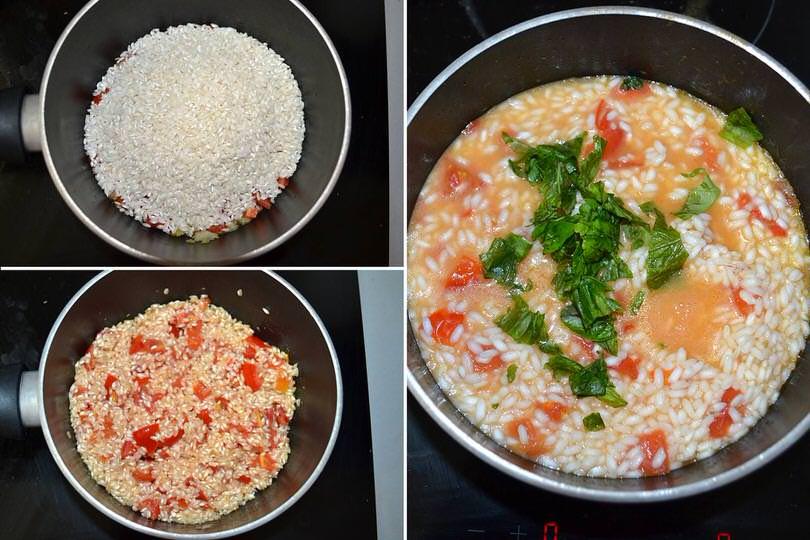 4 cuocere riso
