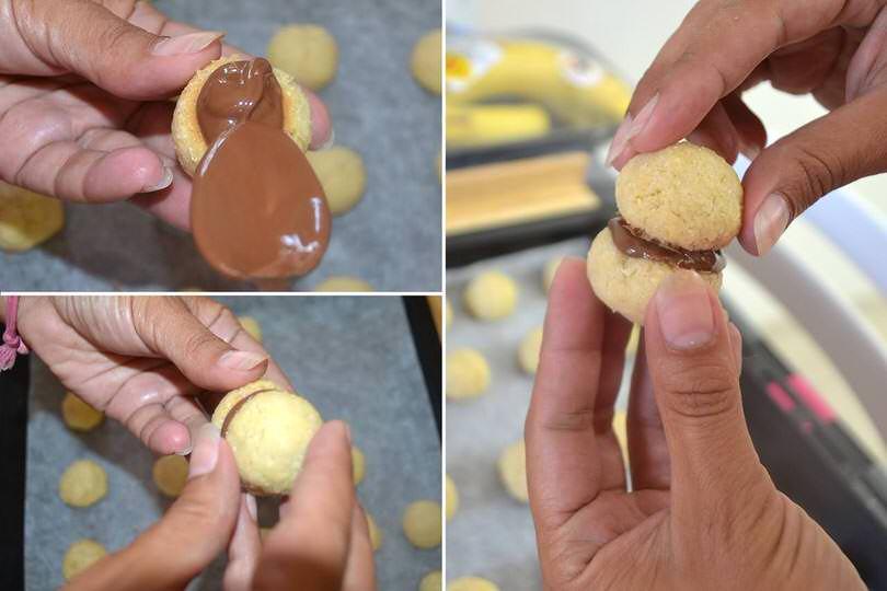 5 assemblare biscotti
