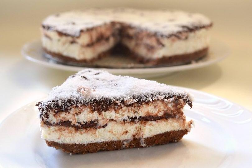Cheesecake Al Cocco E Nutella Ricetta Cheesecake Al Cocco E