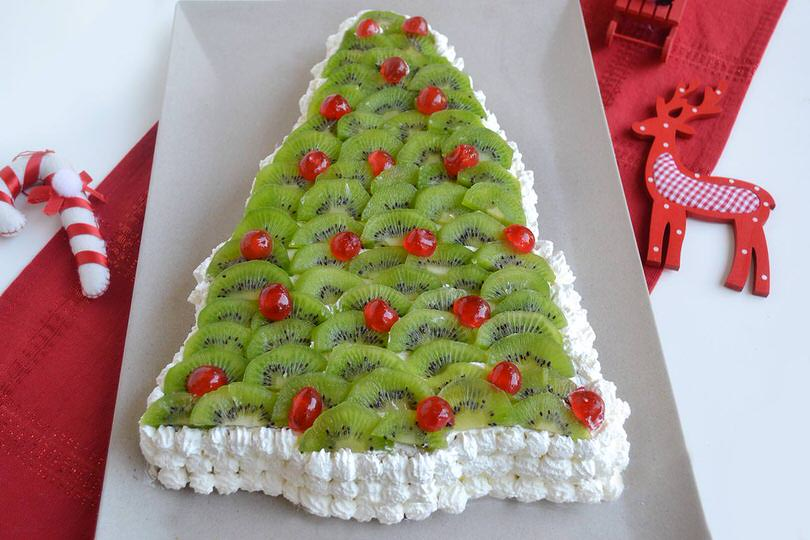 Addobbi Natalizi A Forma Di Dolci.Torta Albero Di Natale Ricetta Torta Albero Di Natale Di Misya