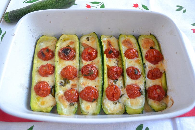 Ricetta zucchine ripiene for Ricette vegetariane