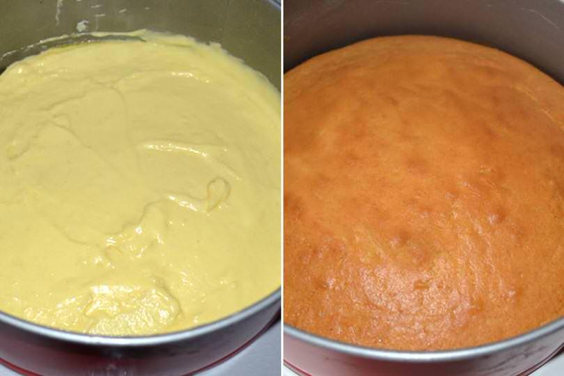 2 cuocere torta