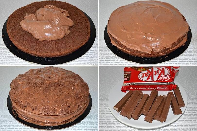 Torta Kit Kat Ricetta Torta Kit Kat Di Misya