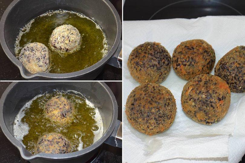 5 friggere arancini