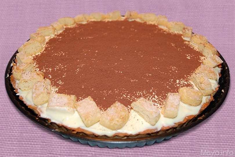 534c30dfe82b Crostata Tiramisu - Ricetta Crostata Tiramisu di Misya