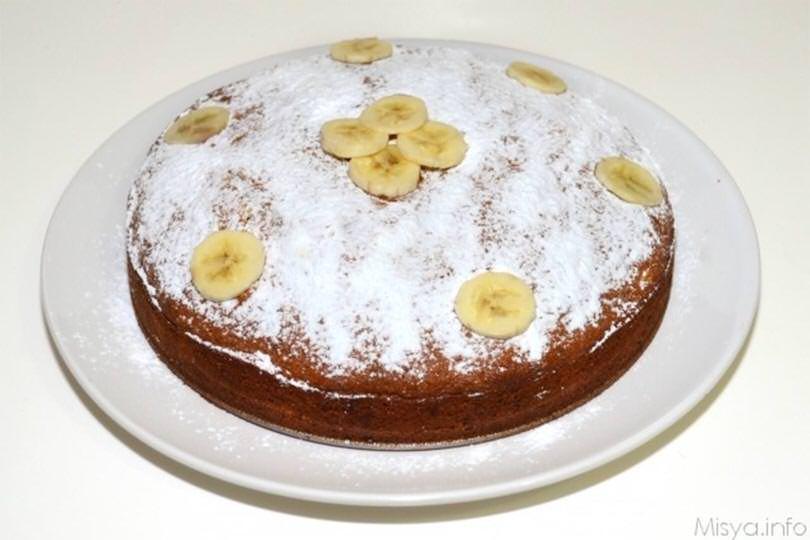 Ricetta Torta Banana.Torta Di Banane E Cioccolato Ricetta Torta Di Banane E Cioccolato Di Misya