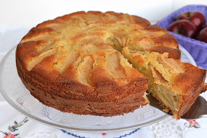 Ricetta torta di mele for Ricette dolci bimby
