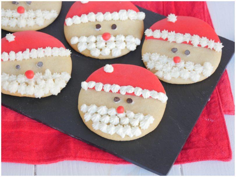 Biscotti Natale.Biscotti Babbo Natale