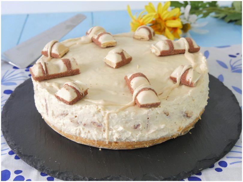 Ricetta Cheesecake Nutella E Kinder Bueno.Cheesecake Kinder Bueno Ricetta Cheesecake Kinder Bueno Di Misya