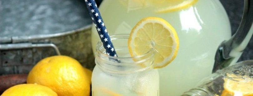 Limonata fatta in casa: ecco come si prepara