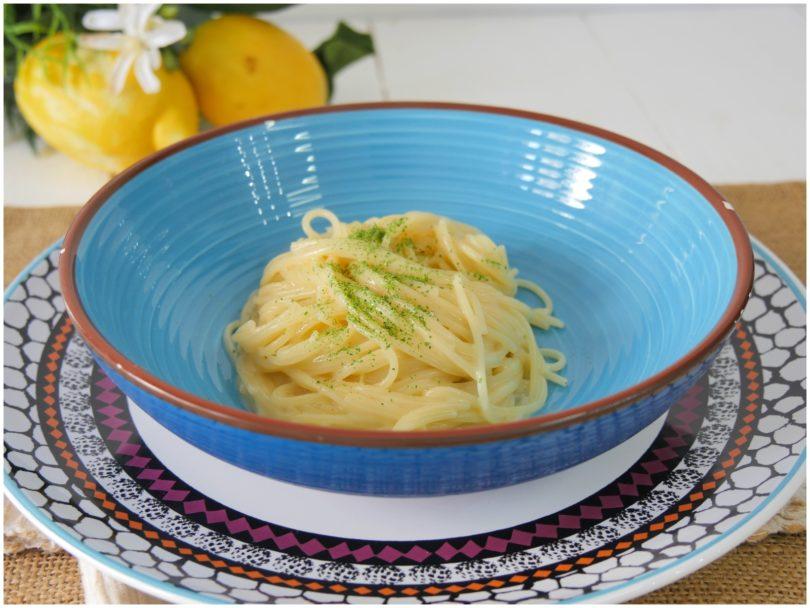 Spaghettini al limone