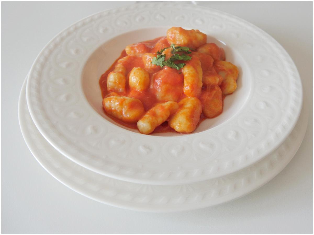 Ricetta Gnocchi Con I Fiocchi Di Patate.Gnocchi Con Fiocchi Di Patate Ricetta Gnocchi Con Fiocchi Di Patate Di Misya