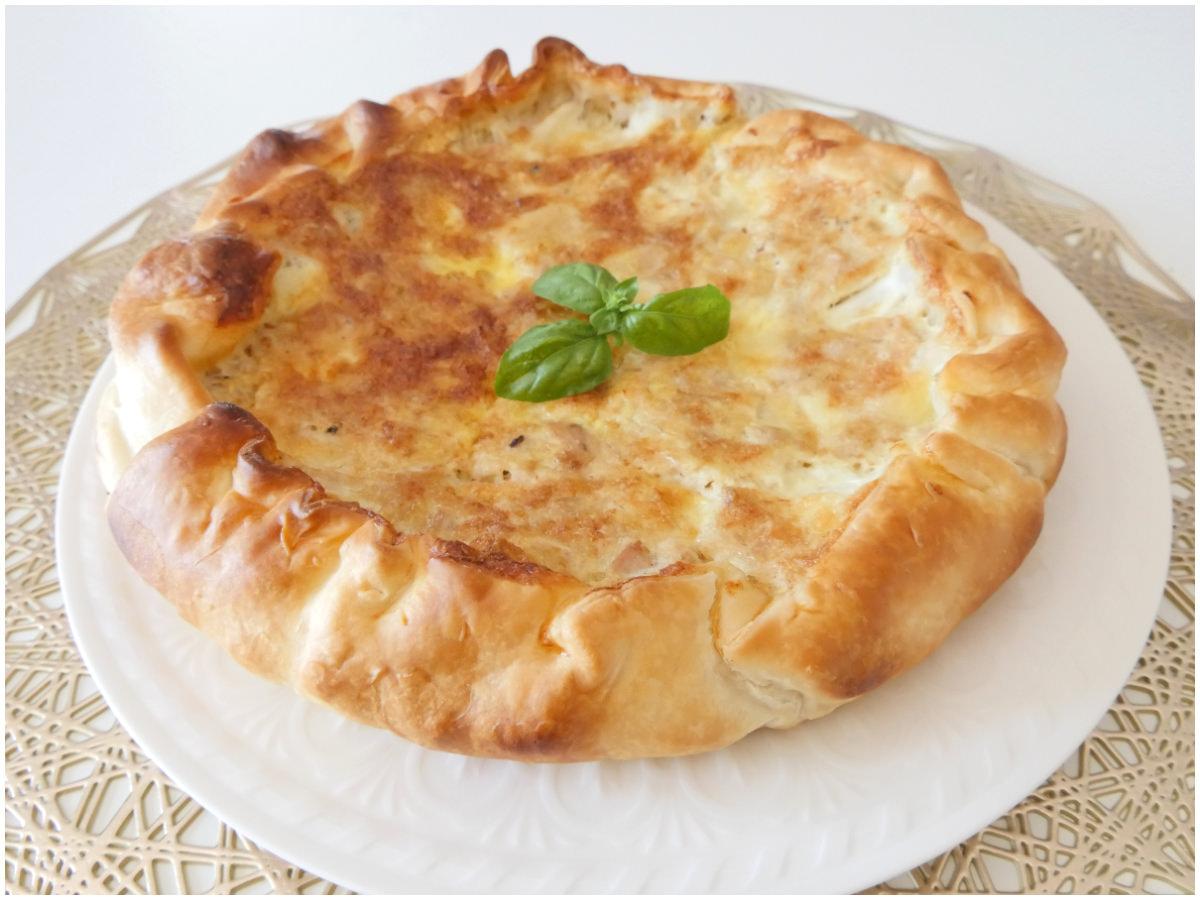 Ricetta Quiche Tonno.Torta Salata Con Tonno Ricetta Torta Salata Con Tonno Di Misya