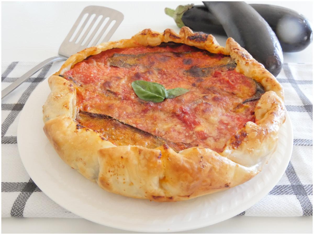 Ricetta Quiche Misya.Torta Salata Alla Parmigiana Ricetta Torta Salata Alla Parmigiana Di Misya